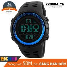 Đồng hồ thể thao nam SKMEI DO39 Dây Cao su Stopwatch Digital Chống Nước Bơi Lội Hot Nhất Mùa Hè 2019