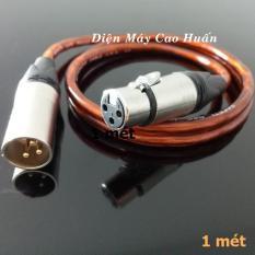 Dây micro Jack Canon – XLR đực ra XLR cái 1m / 1.5m / 2m / 3m / 5m / 7m / 10m