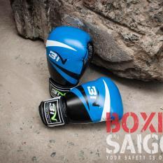 Găng tay Boxing BN ( Xanh )
