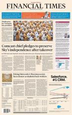 Báo giấy Financial Times – 24 September 2018