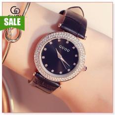 Đồng hồ nữ GUOU 8112 DD thiết kế đơn giản, sang trọng, phong cách