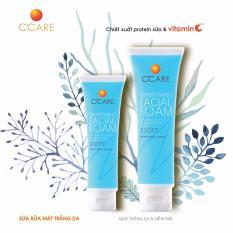 C'Care Sữa rửa mặt Trắng da 50g – Chiết xuất protein sữa và Vitamin C
