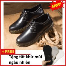 Giày boot nam- Giày da nam M353(T)-DEN