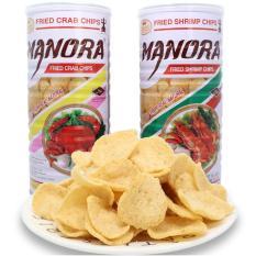 2 Lon Snack Tôm Manora Thailand