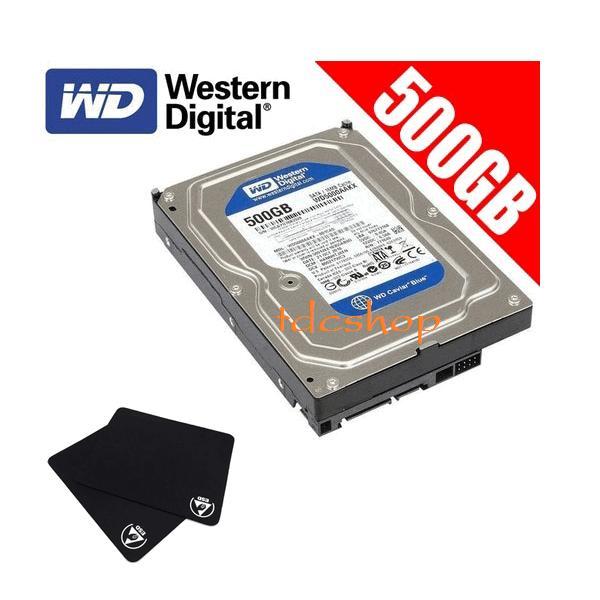 Ổ cứng gắn trong HDD 500G Western Blue Máy tính để bàn + Tặng lót chuột loại tốt - Bảo...