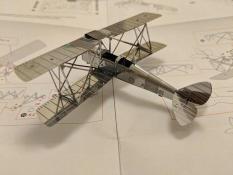Máy bay cánh bằng 2 tâng bằng thép không gỉ