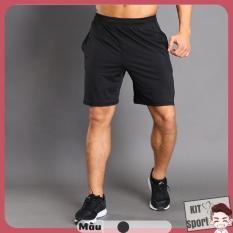 Quần đùi thể thao nam Black PD12019 – Cửa hàng phân phối KIT Sport – Hiệu LieXing(Men Pants,đồ tập quần áo gym, mẫu short ngắn,thể hình,tạ Fitness)