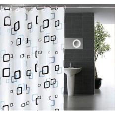 Rèm cửa nhà tắm EVA không thấm nước (rộng 1m8, dài 2m)
