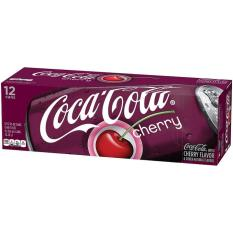 Coca cola Cherry Mỹ thùng 12 lon (355ml/lon)