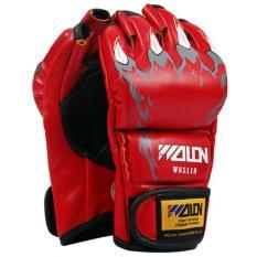 Găng tay MMA Wolon đánh bao cát loại tốt ( Đỏ )