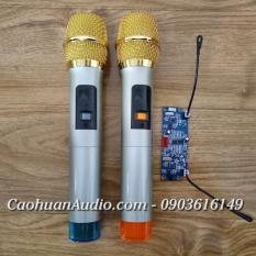 Bộ 2 micro không dây cho loa kéo sóng UHF