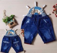 Quần Lửng Jeans Mềm Lưng Bo Túi Thêu – QT95[20-30Kg]