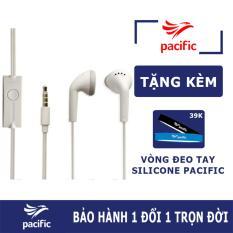 Tai nghe nhét tai Galaxy J7 Pro Zin (Trắng) – Tặng Vòng đeo tay Silicone Pacific