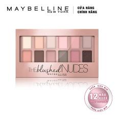 Bảng phấn mắt Maybelline New York The Nudes Palette 12 màu 9g (Tông hồng)