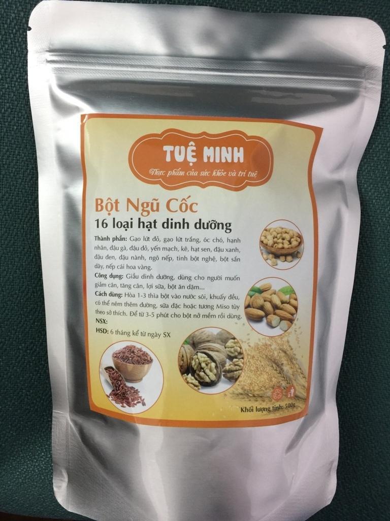 (1kg) Bột ngũ cốc 16 loại hạt cao cấp