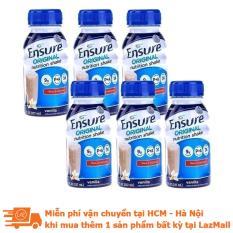 Bộ 6 chai sữa nước Ensure Vani 237ml