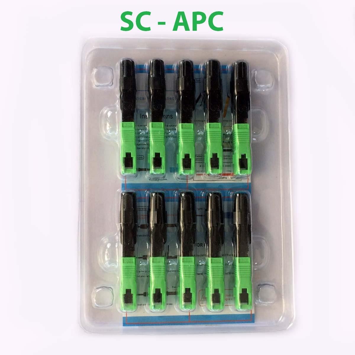 vỉ 10 đầu fast connector SC-APC 207