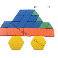 Ghép hình puzzle block 125 chi tiết