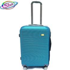 vali nhựa kéo 20inch sộc ngang Shalla (đen,hồng da,đỏ đô,vàng đồng,xanh mặt hồ,xám bạc)