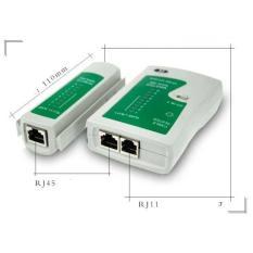 bộ test dây mạng Rj45 tặng kèm pin