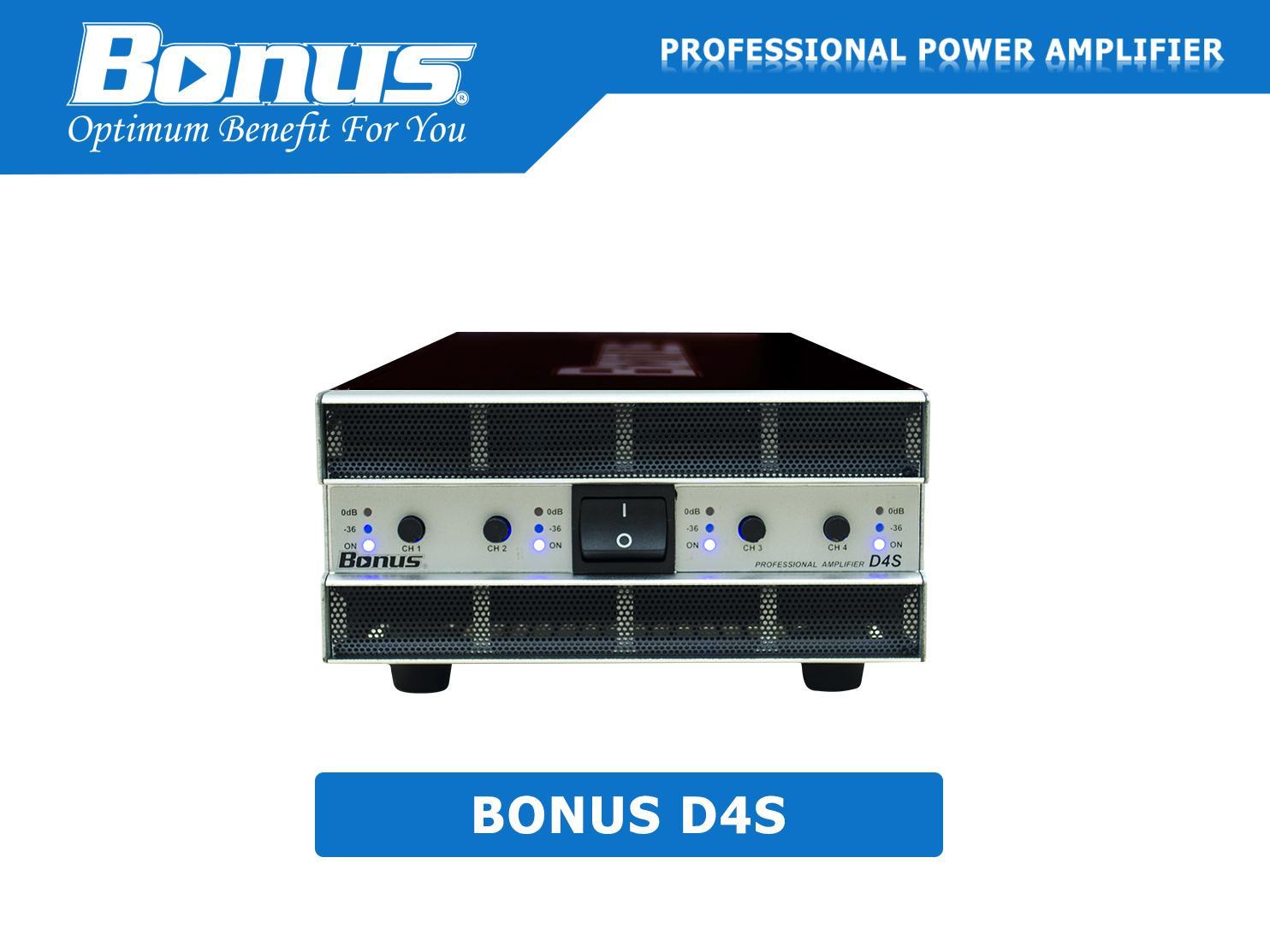 Main Power – Cục đẩy công suất Bonus D4S