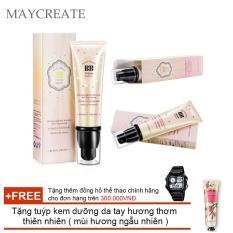 Kem Che Khuyết Điểm Maycreate Bb Cream ( Vàng ) + Tặng tuýp kem dưỡng da tay hương thơm thiên nhiên ( Đơn hàng mỹ phẩm trên 300k tặng thêm 1 đồng hồ thể thao như quảng cáo )