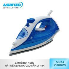 Bàn ủi hơi nước mặt đế Ceremic cao cấp Asanzo DI -18A
