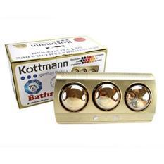 Đèn Sưởi Nhà Tắm 3 Bóng Kottman