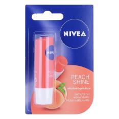 Son dưỡng ẩm hương đào Nivea Peach Shine 4.8g Thái