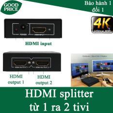 Bộ gộp tín hiệu HDMI 4K từ 1 ra 2 tivi cùng lúc