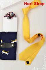 Cà vạt nam bản nhỏ 5cm – cavat tự thắt