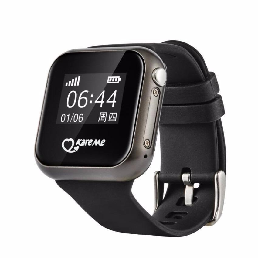 Đồng hồ thông minh GPS giám sát trẻ em KareMe PT03 (Đen)