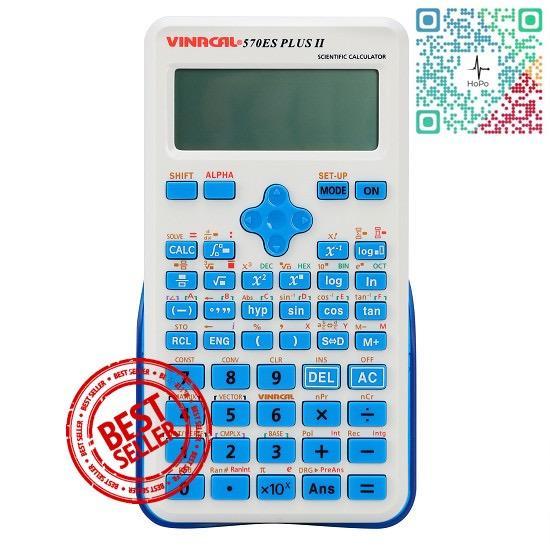 Máy tính Vinacal FX570 ES Plus II – HÀNG PHÂN PHỐI CHÍNH HÃNG