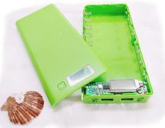 Box sạc dự phòng 8 cell (màu xanh lá – không gồm pin) Đang Bán Tại ShopDV