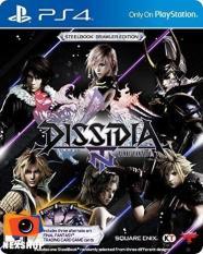 Đĩa game PS4 Dissidia Final Fantasy NT Steelbook Brawler Edition – Hàng nhập khẩu – Hệ US