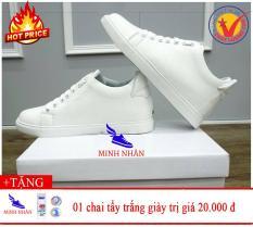 Giày thể thao nam độn đế 6cm tặng Chai nước tẩy trắng giày Plac