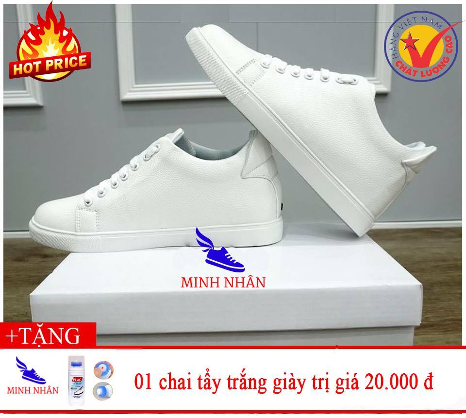 Mua Giày thể thao nam độn đế 6cm tặng Chai nước tẩy trắng giày Plac Tại Shop Minh Nhân – Xưởng giày da cao cấp
