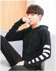 Áo len cardigan nam – áo hoodie nam len cao cấp AL12
