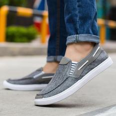 Giày lười giày mọi nam giày nam thời trang nam DODACO LAS1814 – LAS1815 – LAS1816 – LAS1817 – (Đen Đỏ Xanh Xám)