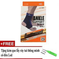 Băng bảo vệ cổ gót chân LX-1099 tặng kèm dụng cụ lấy ráy tai có đèn