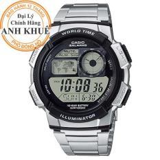 Đồng hồ nam dây kim loại Casio Anh Khuê AE-1000WD-1AVDF