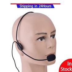 Mini 3.5 mét gắn Đầu Có Dây Condenser MIC cho Khuếch Đại Giọng Nói Loa-quốc tế