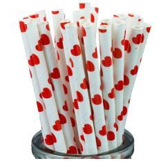 25 Ống hút giấy dùng trong tiệc