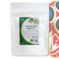 Trà matcha Nhật 3in1 (trà xanh sữa) – GreenD Food – 100g