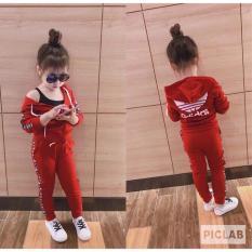 Bộ quần áo khoác thể thao bé gái có size từ 7-20kg (Đọc kỹ hướng dẫn chọn size dưới mô tả)