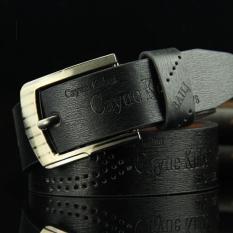 [Nhập ELMAR31 giảm 10% tối đa 200k đơn từ 99k]Sunzin.HCM Free từ 99k-Thắt lưng da Nam mặt khóa quân đội kiểu khóa lỗ tròn DL929 (Rộng 3.3 dài 12m) dây lưng da / dây nịt da / dây nịt nam /-SZ10265