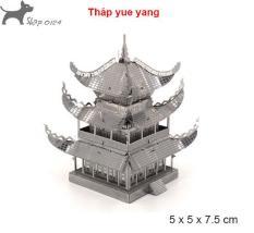 Đồ chơi lắp ghép mô hình 3D công trình nổi tiếng bằng thép