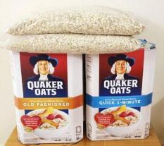 Nửa Thùng Yến Mạch Quaker Oats Mỹ 4.53kg (cán vỡ)