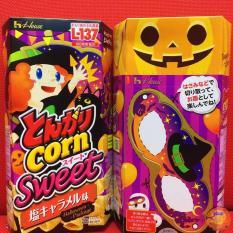 Snack Tongari Corn Halloween vị Caramel mặn ngọt ( 75g )