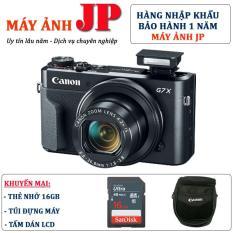 Canon G7X Mark II (Hàng nhập khẩu) – Tặng thẻ 16G + túi máy + tấm dán LCD